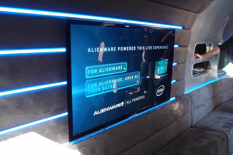 In pictures: the Alienware 'Area 52' roadshow