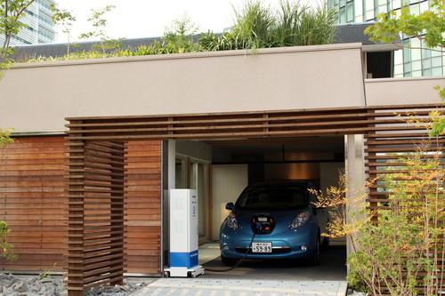 Nissan eyes powering your house from your car