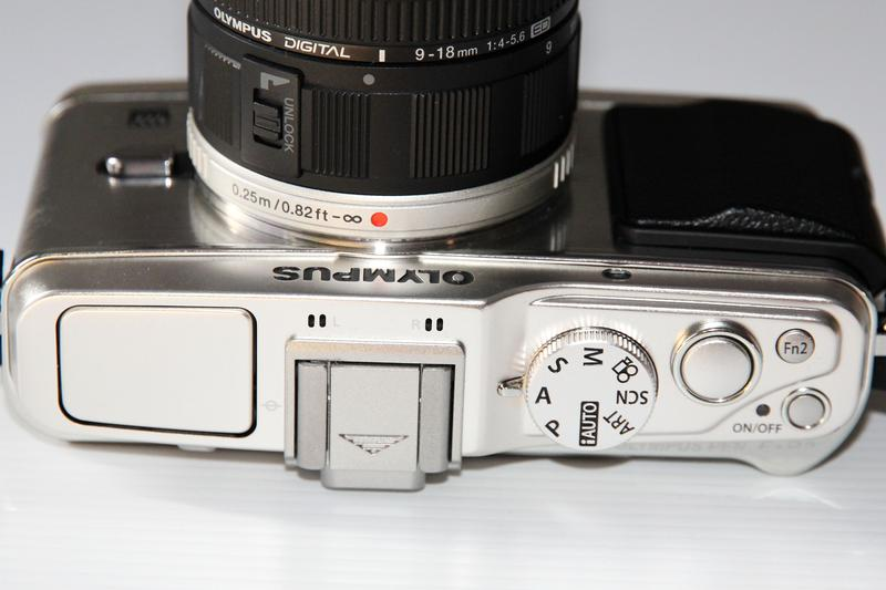 Detailed images of the Olympus PEN E-P3