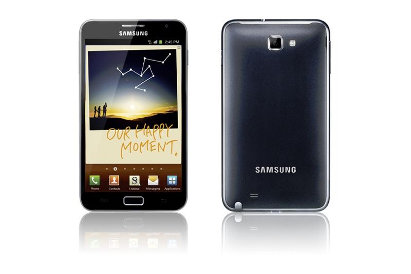 In pictures: The Samsung Galaxy Note smartphone