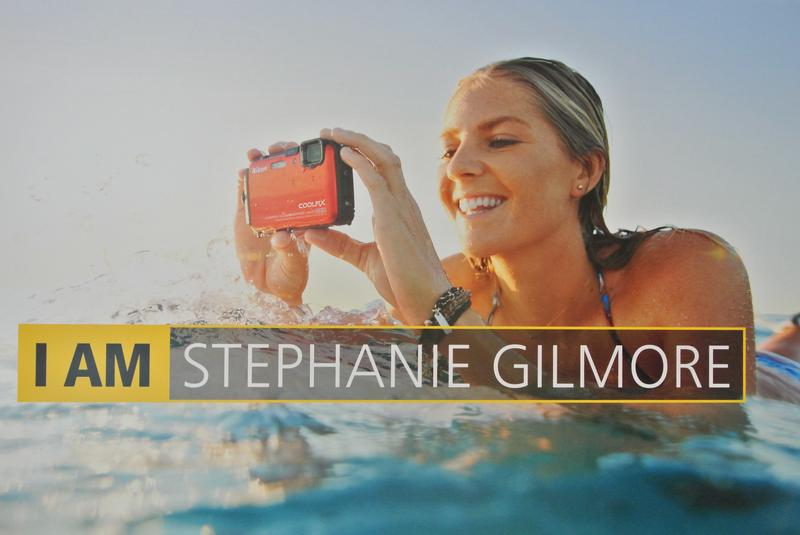 Stephanie Gilmore photoshoot at Bondi beach