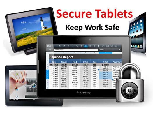 In Pictures: Tablets with serious security for business