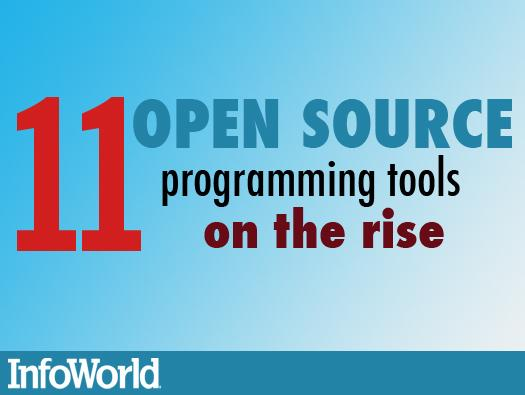 11 open source programming tools on the rise