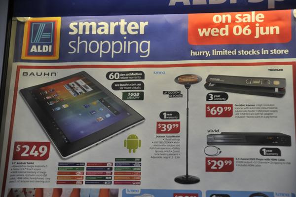 Aldi $249 tablets run out in minutes (+ slideshow)