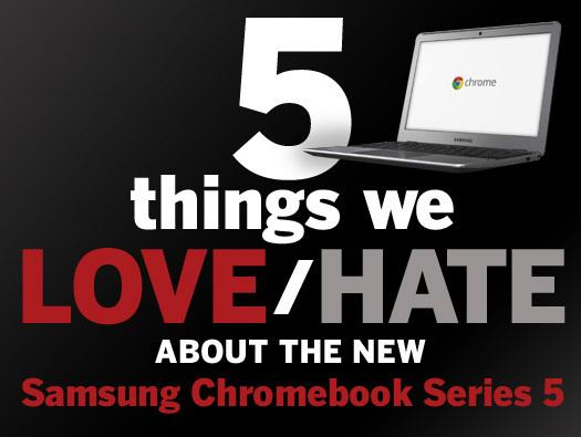 In Pictures: Samsung's new Chromebook