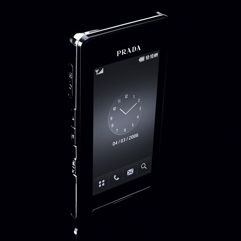 In Pictures: LG Releases Prada designed Touch Phone