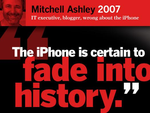 In Pictures: Five years ago they said the iPhone would be a flop ... Now?