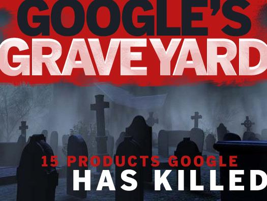 In Pictures: Google's Graveyard, 15 Products Google Has Killed