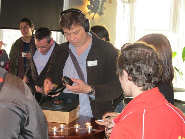 IN PICTURES: Parrot ZIK headphones take off in Sydney