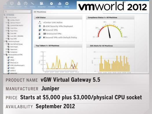 In Pictures: Hot products at VMworld 2012
