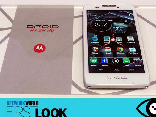 In Pictures: First look - Motorola's new Droid RAZR lineup
