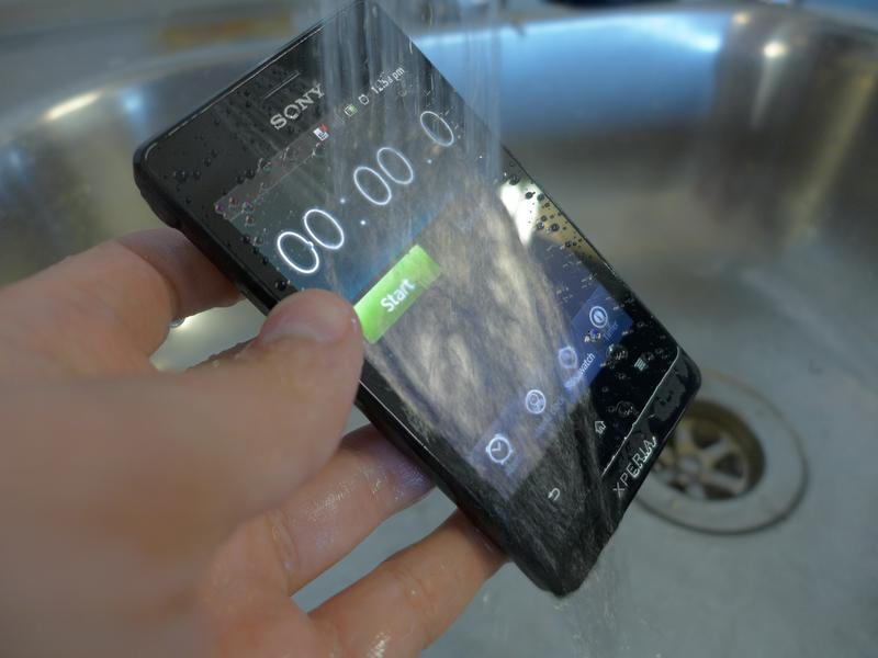 In pictures: Sony's dust and water resistant Xperia go