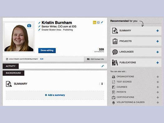 In Pictures: LinkedIn revamps profile pages
