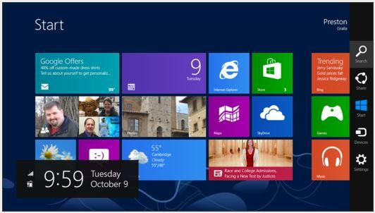 IN PICTURES: Windows 8 cheat sheet