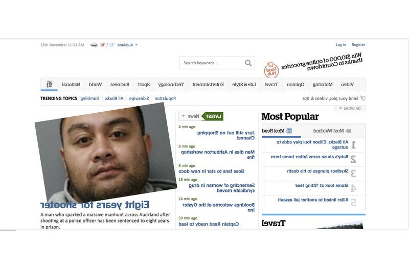 New Zealand Herald falls victim to XSS prank