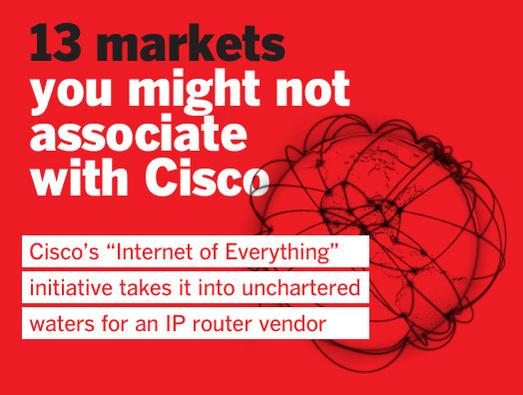 In Pictures: 13 markets you might not associate with Cisco