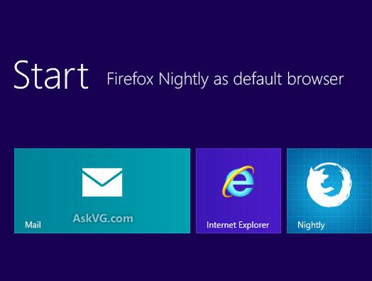 In Pictures: Firefox for Windows 8