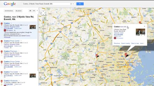 Saving Google Maps destinations for easy navigation