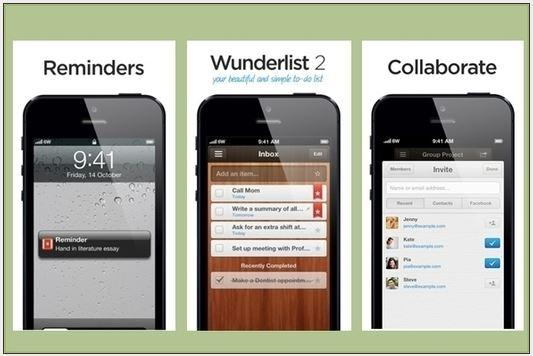 In Pictures: 9 Top iPhone and iPad productivity and time management apps