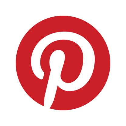 The Pinterest logo.