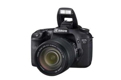 Canon's EOS 7D digital SLR camera