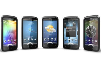 The HTC Sensation Android phone