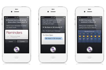 "Meet Siri: the iPhone 4S' ""personal assistant"" feature"