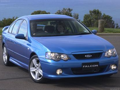 Could this Ford Falcon be the next Robot in Disguise?