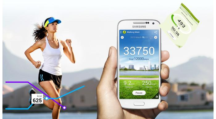 S Health is included on the Galaxy S4 Mini.