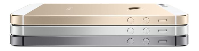 "The iPhone 5s will be available in silver, gold and a new ""space grey"" colour."