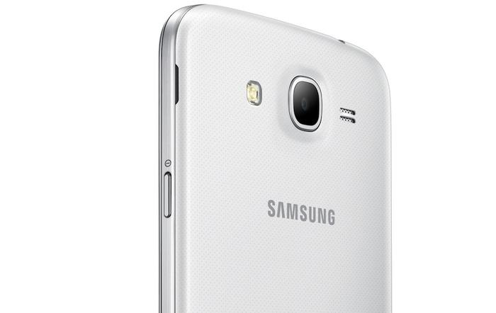 The Galaxy Mega 5.8 has an 8-megapixel rear facing camera that records full HD video.