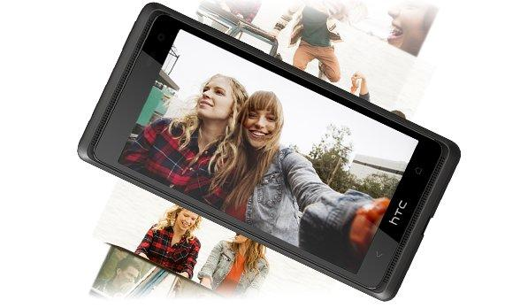 The Desire 600 has an 8-megapixel rear camera and a 1.6-megapixel front facing camera for video calls.