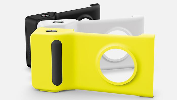 The Camera Grip accessory has its own 1020mAh battery, a shutter button and a tripod mount.