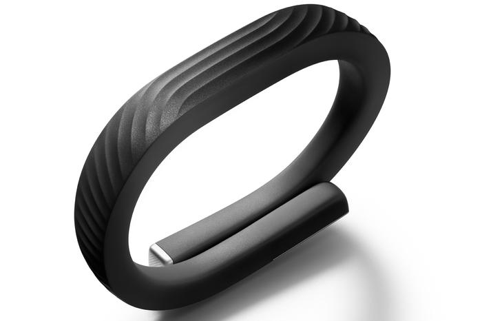 The Jawbone Up24 looks almost the same as its predecessor, though it has a slightly different pattern imprint on the front.