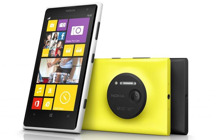The Nokia Lumia 1020: now available through Optus.