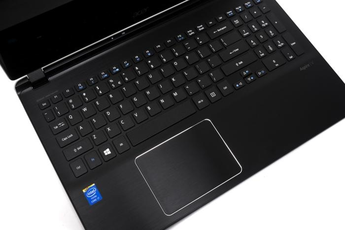 The keys are a little too shallow and have a much-too-smooth finish, but it's a good keyboard overall. The touchpad could use better drivers, though.