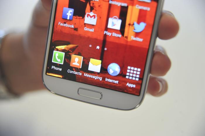 The Galaxy S4's screen is excellent and is definitely one of the best we've seen on an Android phone.