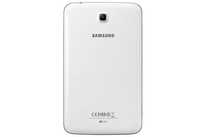 The Galaxy Tab 3 7.0 uses Samsung's now familiar glossy plastic design.