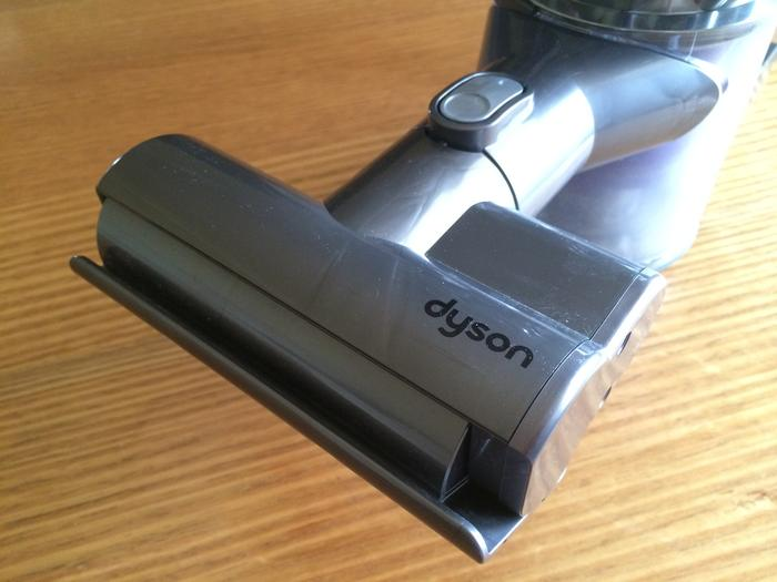 The mini motorised tool has been designed to clean upholstery.