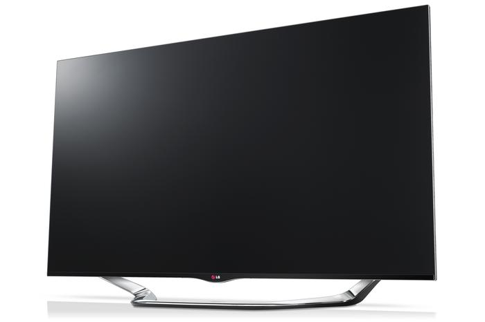 The LG LA8600 LED TV.