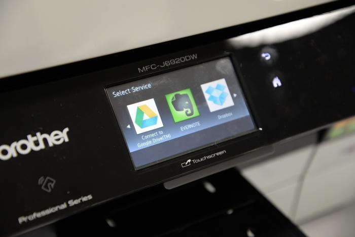 Google Cloud Print is among the cloud printing services available to use with this printer.
