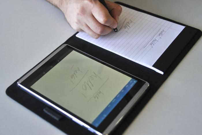 research paper on tablet pc