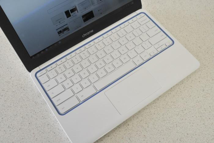 A good keyboard and touchpad make the Chromebook 11 comfortable to use, though you do have to get used to things, such as not having a Delete key.