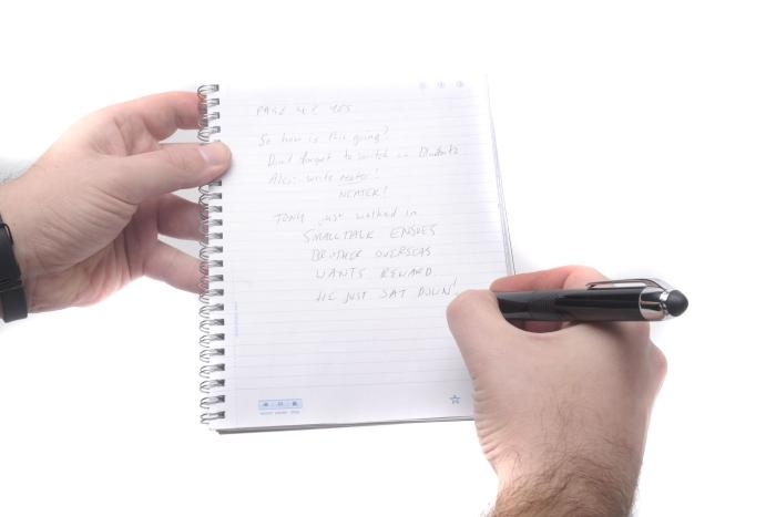 Dot paper is an ongoing 'consumable' cost for the Livescribe smartpen.
