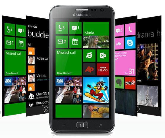 The ATIV S will be one of the first smartphones to run Microsoft's new mobile OS, Windows Phone 8.