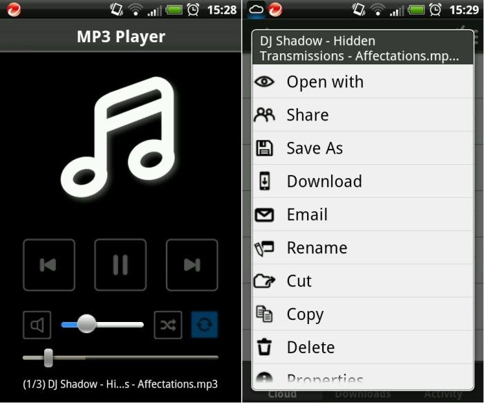 There is a mobile WD 2go app, too, which allows you to stream music and download files to your phone.