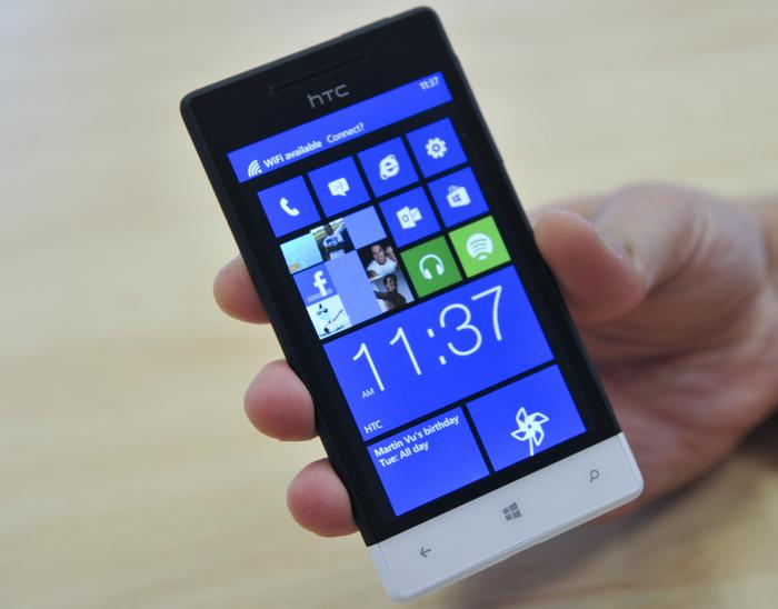 The HTC 8S is one of the best looking Windows Phone 8 devices on the market right now.