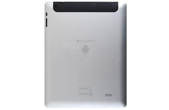 The back of the new Bauhn Android tablet.