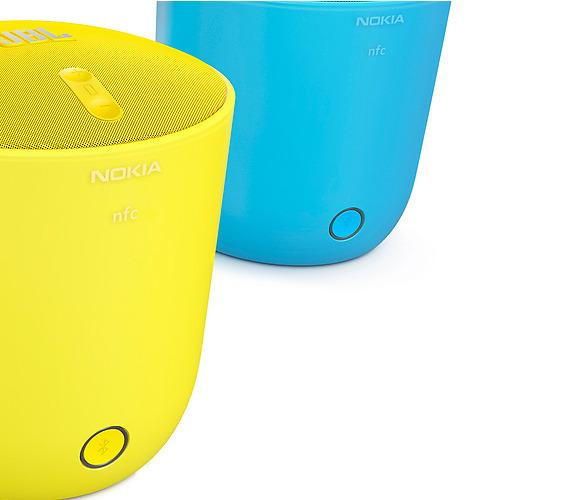 The PlayUp comes in four colours that match Nokia'a Lumia 920 smartphone.