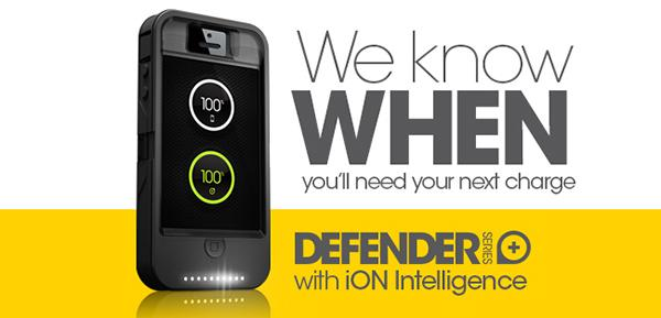 The Defender with iON Intelligence case, as it appears on the Otterbox website.